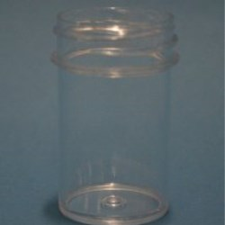 20ml Polystyrene Regular Walled Simplicity Jar 33mm Screw Neck