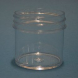 30ml Polystyrene Regular Walled Simplicity Jar 43mm Screw Neck