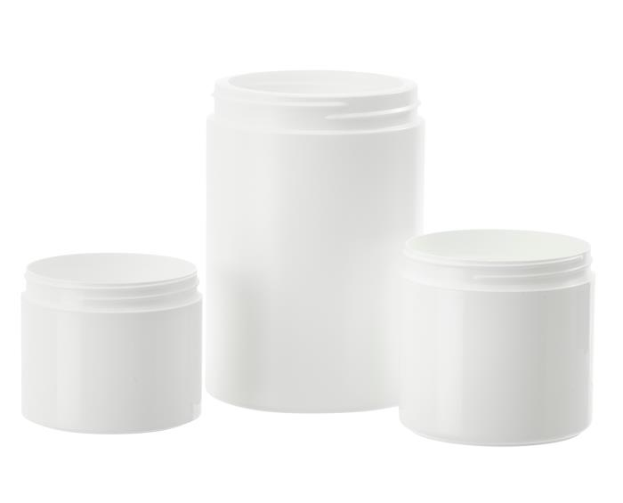 Wide Mouth HDPE Jars