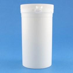 250ml White Simplicity PP Tamper Evident Jar