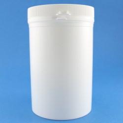 1250ml White Simplicity PP Tamper Evident Jar