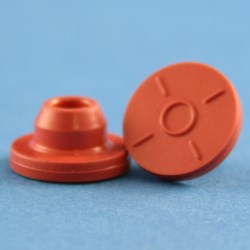 13mm Red Chlorobutyl Rubber Stopper