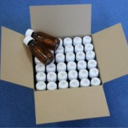 Precapped Alpha CleanPack Glass Bottles