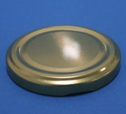 82mm Gold Metallic Twist Off Cap
