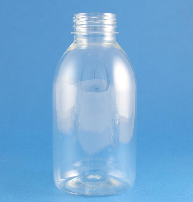 500ml Alpha Beverage PET Bottle 38mm Tamper Evident Neck