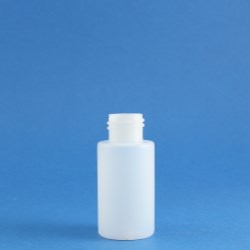 50ml Simplicity Bottle Natural HDPE 24mm Neck