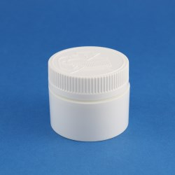 50ml Wide Neck Child-Resistant Polypropylene Jar with 53mm Neck