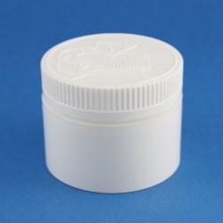 100ml Wide Neck Child-Resistant Polypropylene Jar with 63mm Neck