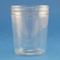 200ml Tapered PET Jar with 70mm Screw Neck