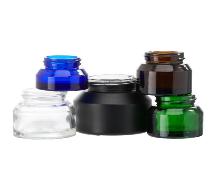Alpha Veral Glass Jars