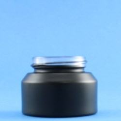 30ml Veral Black Glass Jar