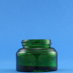 30ml Veral Green Glass Jar