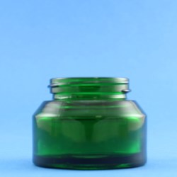 50ml Veral Green Glass Jar