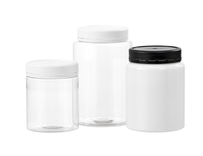 Tamper Evident PET Jars