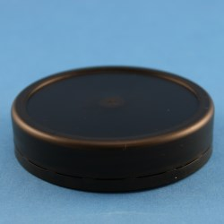82mm Black Smooth Tamper Evident Twist Off Cap with Bore Seal