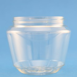 250ml Tapered PET Jar with 70mm Screw Neck