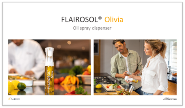 Chefs are more likely to use non-pressurized oil spray dispensers in their kitchen!