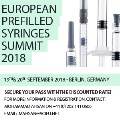 European Prefilled Syringes Summit 2018