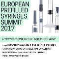 Berlin to Host 2nd European Prefilled Syringes Summit