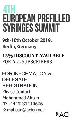 Berlin to Host 4th European Prefilled Syringes Summit