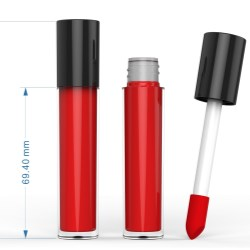 Lip Gloss Container with Big Applicator
