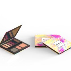 Kindus new customizable cardboard cosmetic compacts with FSC certified cardboard
