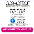 Kindu Packing will attend Cosmoprof  Bologna 2018 at Booth F7, Hall18.  Welcome to meet us!