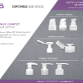 Abpack vous propose des flacons en PET 200 ml disponibles sur stock (par carton de 276 flacons).