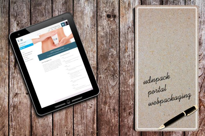 UDN expands its exposure on the Webpackaging platform