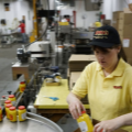 Empires custom designed 16 Oz PET Jar for Webers Mustard
