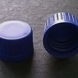 Screw cap PP ø 16, color blue