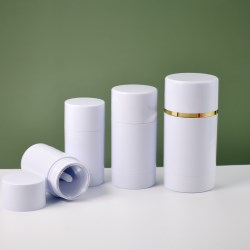 Twist-up Refillable Deodorant Container