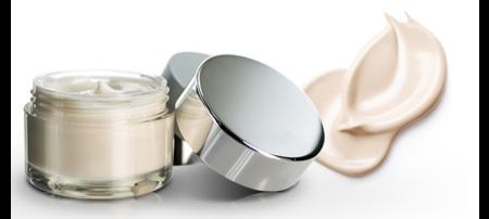 Glass-like heavy wall PET cosmetic jar