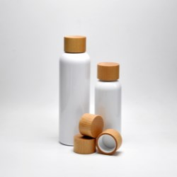 Natural Beech Wood Closure & PET Bottle