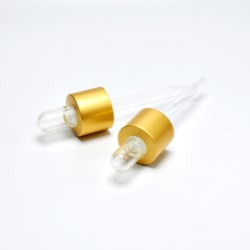 Dropper cap for skincare essence