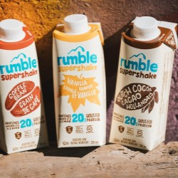 Rumble Supershakes are naturally awesome in SIG's new combismile packaging