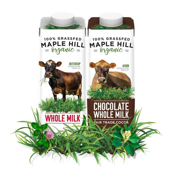 Maple Hill partners with SIG to make grass-fed organic milk available on-the-go
