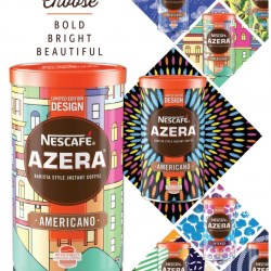 Crown Brings to Life Exclusive Tins for Nescafé Azera Coffee