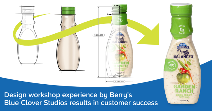 Workshops by Berry's Blue Clover Studios Result in Customer Packaging Success