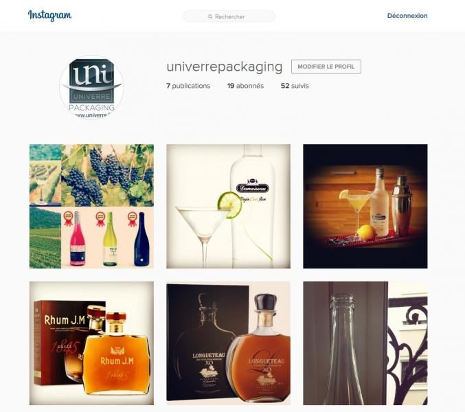 Now Find Us On Instagram Topic Entry Univerre