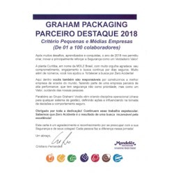 Graham Curitiba designated with the Distinguished Supplier Award by Mondelez