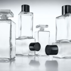 Bath oil bottles