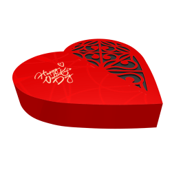 Heart-shaped Packaging Box