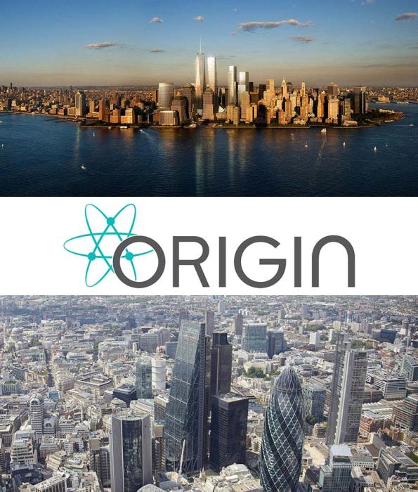 Origin: New York to London