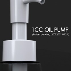 New dripless 1cc oil pump