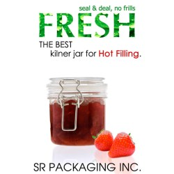 SR Packaging launches new poly carbonate kilner jars