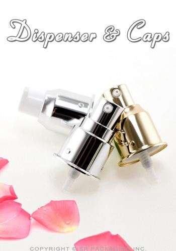 Dispensers and caps by SR Packaging