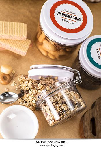 The all new Kilner Jar with screw-on cap by SR Packaging