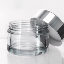 SR Packagings glass-like heavy wall jar