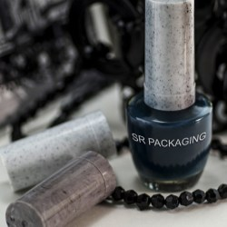 SR Packaging presents PP caps with flow banding texture